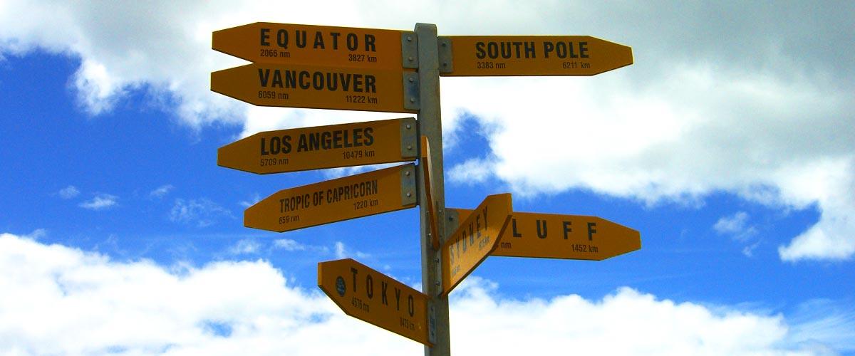 Wohin führt der Weg?